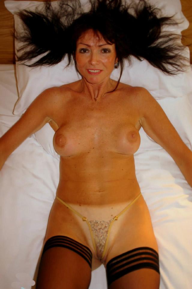 mature older tits