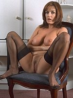 short hair brunette big tits