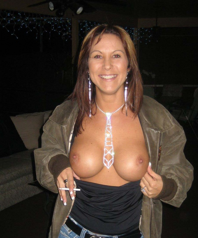 mum got boobs