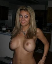 babe blonde busty hot