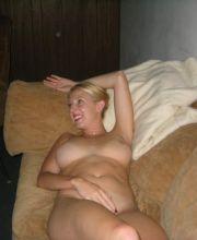 cum fake tits skinny